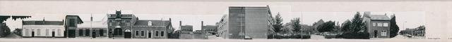 1625_0154 - Fotostrook; straatwand; panden aan de linten en hoofdverbindingswegen in het centrum van de stad; Korte Schijfstraatt 4-38; foto's werden tussen 1976 en 1985 gemaakt. (foto gemaakt in periode 1976-1985)