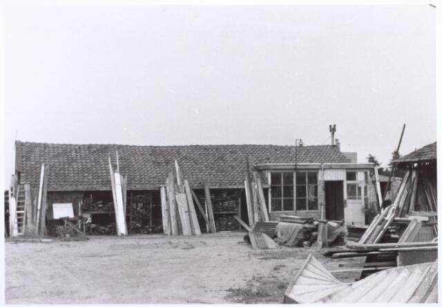 017828 - Achterzijde van het pand Rielseweg 233 (thans Dr. Hub. van Doorneweg) anno 1969