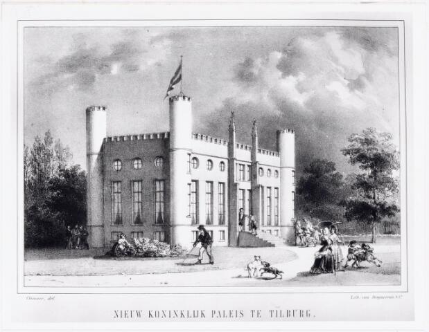 039784 - Paleis koning Willem II aan het Stadhuisplein
