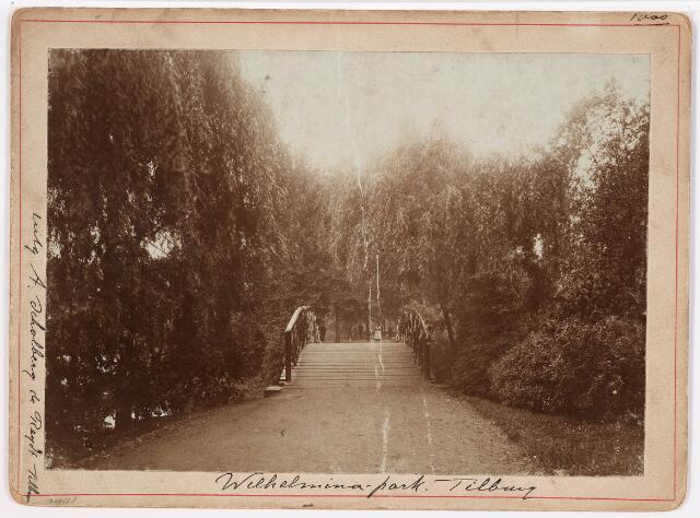 035108 - Bruggetje in het Wilhelminapark