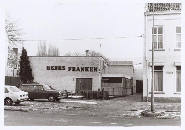 019189 - Wollenstoffenfabriek Gebroeders Franken aan de Goirkestraat