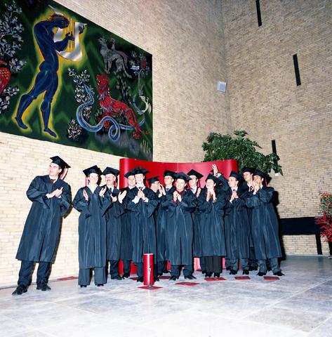 """D-00724 - Universiteit van Tilburg (voor het boek """"Beeld van een universiteit"""")"""