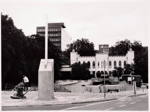 036051 - Stadhuisplein. Gedenknaald Obelisk.