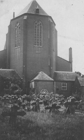 065685 - Achterzijde St. Dionysiuskerk.