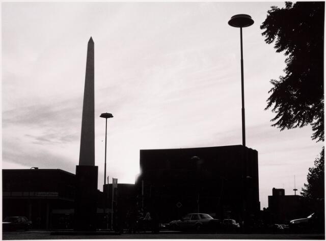 036106 - Stadhuisplein. Onthulling gedenknaald Obelisk Willem II.