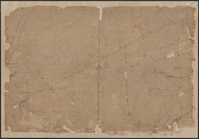 652580 - Kadasterkaart Tilburg, Sectie B (Loven), blad 2. Schaal 1:2500. z.j.
