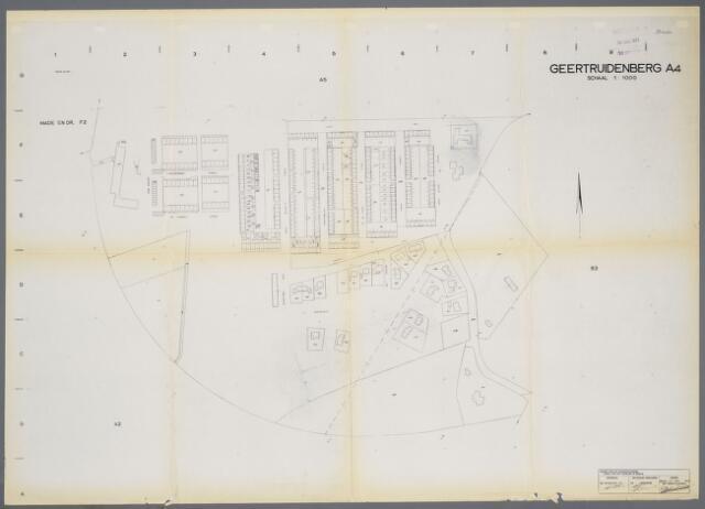 059407 - Kadasterkaart. Kadasterkaart Geertruidenberg A4