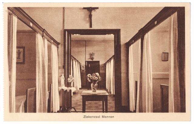 001588 - Lange Nieuwstraat, St. Josephgasthuis, ziekenzaal voor mannen.