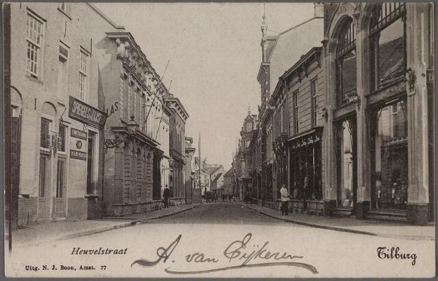 011348 - Heuvelstraat richting Heuvel ter hoogte van de Langestraat (links).