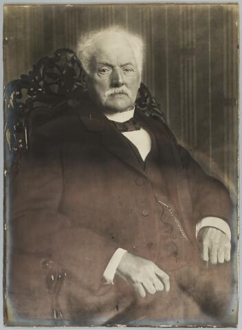 068453 - F.M. Gescher, voormalig burgemeester van Oosterhout. Ambtsperiode 1878 - 1897.