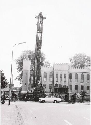 032556 - Eerste paal nieuw stadhuis: omschrijving zie documentnummer 32552