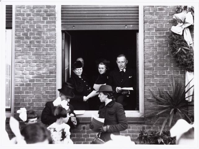 007618 - Bisschopswijding Mgr J.F.M. Pessers. Patorie parochie Goirke. Mgr Pessers is geboren 5 februari 1896, gestorven 3 april 1961.