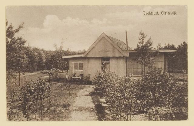 073975 - Pension 'Buitenrust' alsmede een houten recreatiewoning genaamd 'Jachtrust' straatnaam onbekend.
