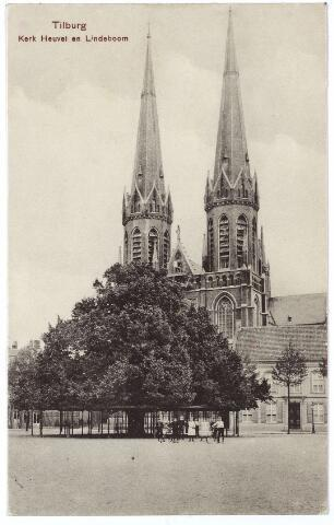 000952 - Kerk lindeboom en pastorie Heuvel.