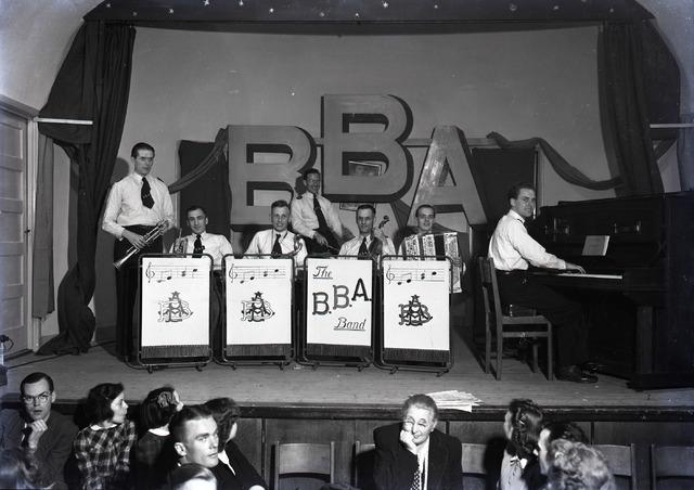 654436 - Muziek. De B.B.A. Band.