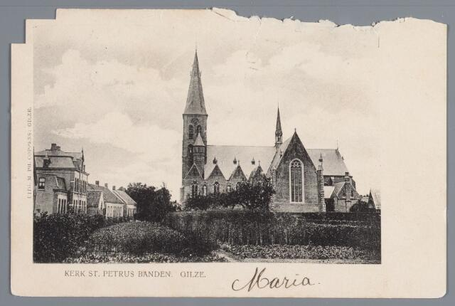 057878 - Gilze, kerk St. Petrus Banden.