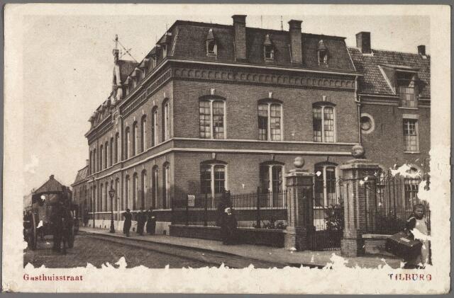 010260 - Moederhuis van de fraters van O.L.V. Moeder van Barmhartigheid aan de Gasthuisstraat, nu Gasthuisring.