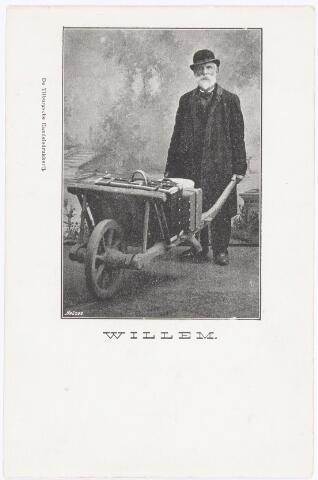 039957 - Willem Hersmis geboren te Tilburg op 2 decembrt 1832 en aldaar overleden op 18 april 1902. Hij zou een bastaardzoon zijn van koning Willem II. Volgens zijn bidprentje was de achternaam Hersmus.