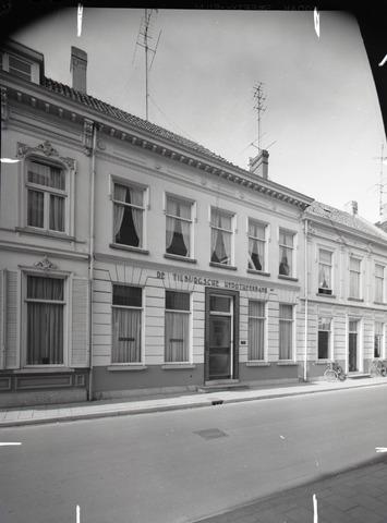 653765 - Exterieur van de De Tilburgsche Hypotheekbank. De bank ging failliet in 1983.