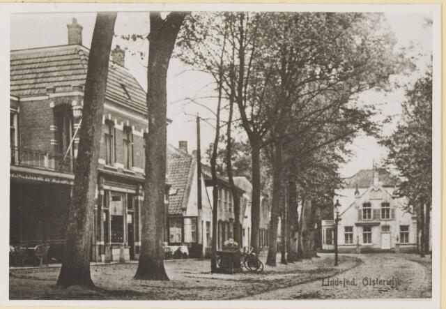074523 - De Lind. trouwlaanntje bestrating verbeteerd in 1936.