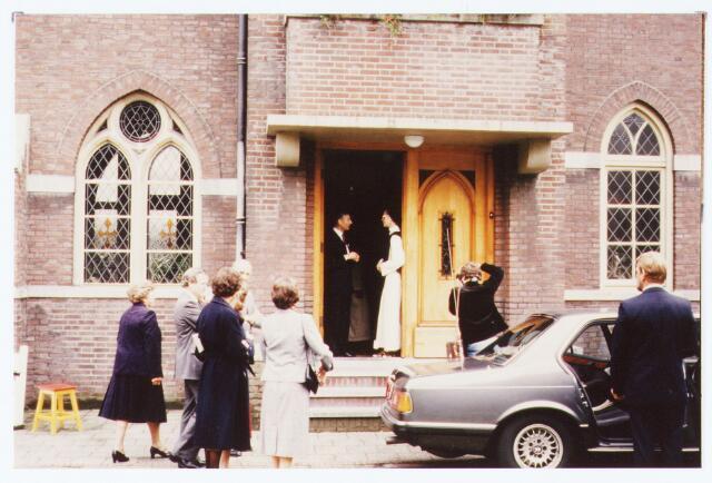 063579 - Commissaris van de Koningin komt op werkbezoek bij de Trappistinnen aan de Raadhuisstraat