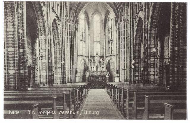 000473 - Kapel R. K. Jongens Weeshuis van de fraters van Tilburg aan de Gasthuisstraat.