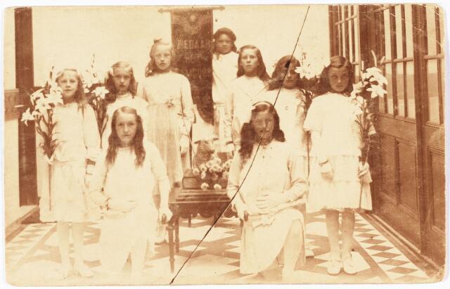 009763 - bruidjes parochie 't Goirke ± 1915
