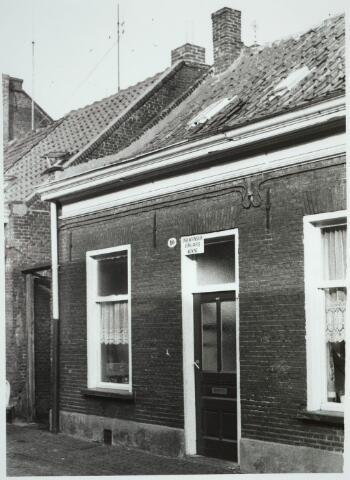 031234 - Van Sonstraat. Onbewoonbaar verklaarde woning.