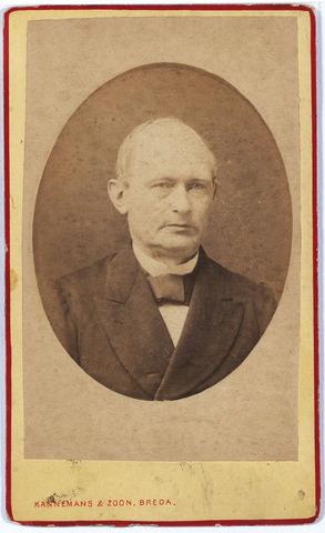 005060 - Joannes van LOON (Tilburg 1821-Roosendaal 1906), gehuwd met Joanna Maria van den Biggelaar (Roosendaal 1835-1912).