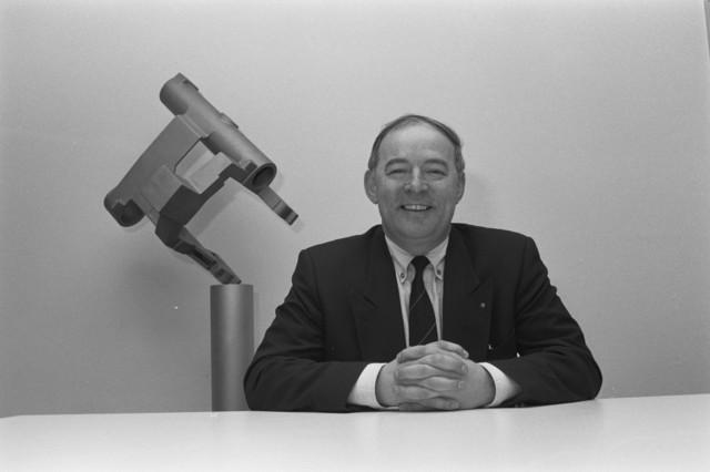 TLB023002722_001 - Portret Jan Melis, bestuurder KVP, later CDA. Directeur Melis IJzergieterij