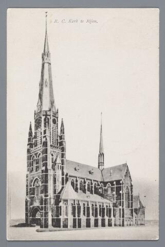057830 - Rijen. R.K. Kerk gebouwd in 1905/1906.
