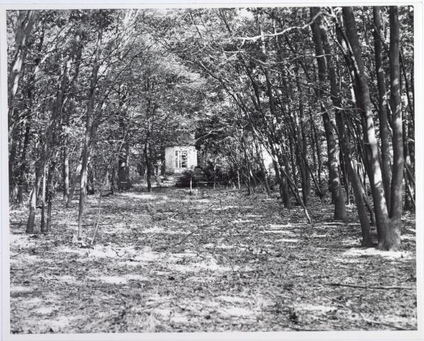 015412 - Landschap. Tuinhuisje behorende bij heerboerderij De Blaak