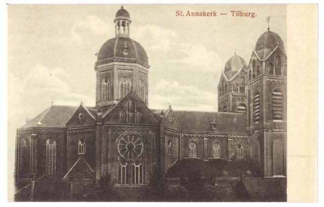 000345 - Capucijnenstraat, St. Annakerk.