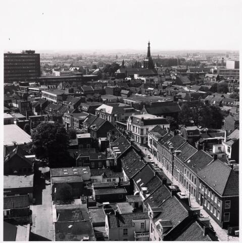 036590 - Panorama van Tilburg vanaf de P.T.T. Toren