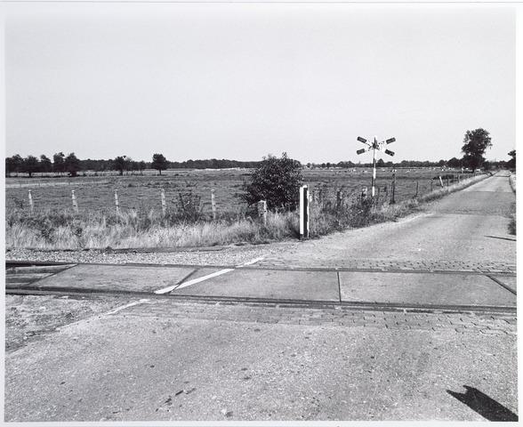 015334 - Landschap. Omgeving van de voormalige spoorlijn Tilburg - Turnhout, in de volksmond ´Bels lijntje´ genoemd