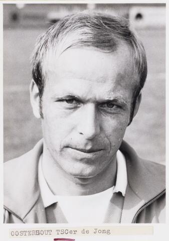 101044 - Sport. Voetbal. Frans de Jong, speler van TSC.