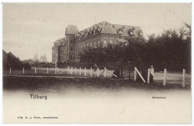 000137 - Missiehuis van de missionarissen van het H. Hart aan de Bredaseweg.