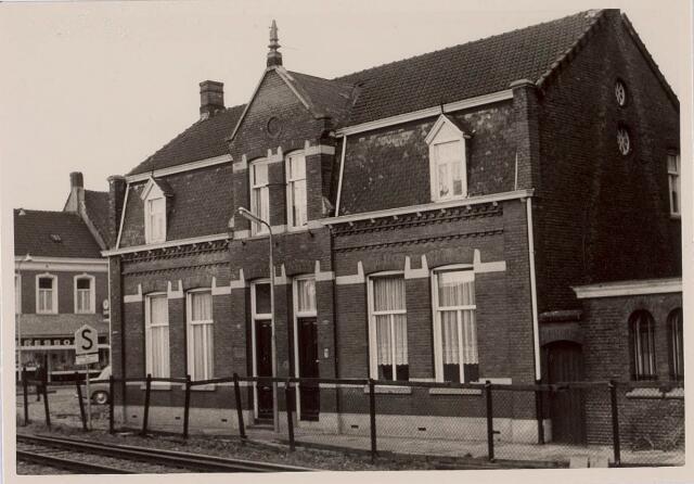 018419 - Panden Fraterstraat 5 (rechts) en 7 (links) eind 1965