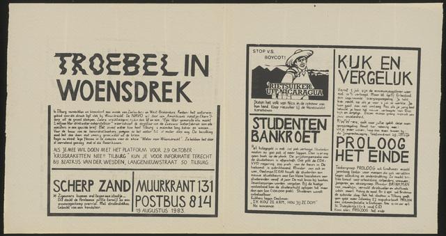 668_1983_131 - Muurkrant: Troebel in Woensdrek