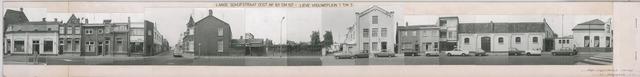 1625_0201 - Fotostrook; straatwand; panden aan de linten en hoofdverbindingswegen in het centrum van de stad; op strook met Lieve Vrouweplein 1-5 / Lange Schijfstraat 101-107; foto's werden tussen 1976 en 1985 gemaakt. (foto gemaakt in periode 1976-1985)
