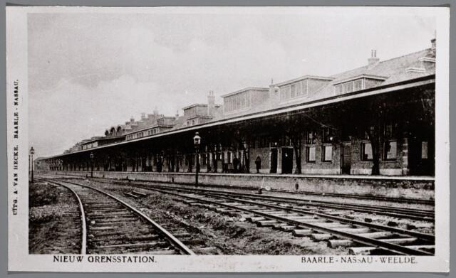 065633 - Openbaar vervoer. Nieuw grensstation Baarle-Nassau-Weelde