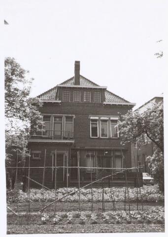 019430 - Achterzijde met tuin van het pand Goirkestraat 85