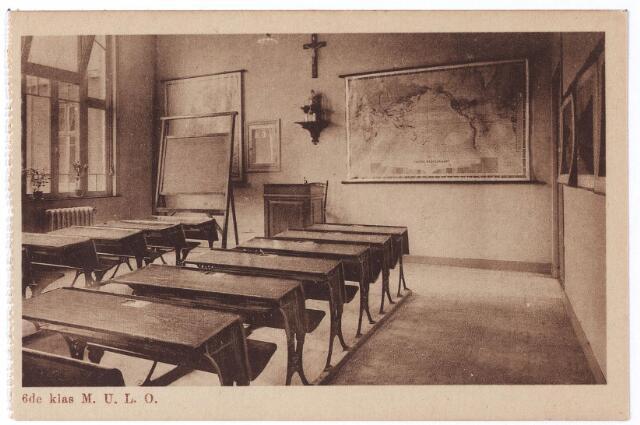 001779 - Oude Dijk, 'zesde klas' M. U. L. O.-school van de zusters van liefde.