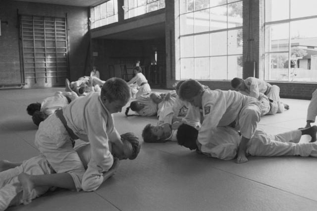 TLB023002541_006 - Judo pupillen aan het trainen