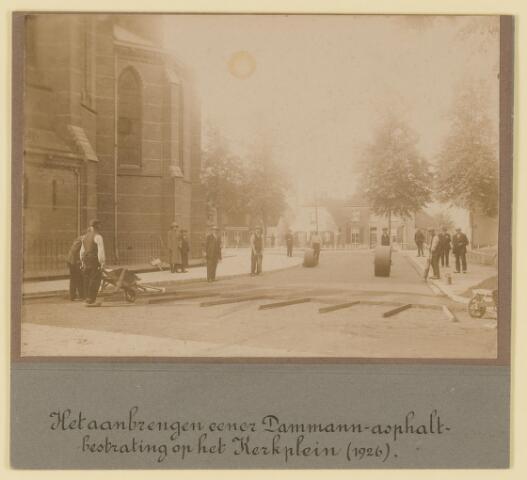 074105 - Verharding van het Kerkplein.