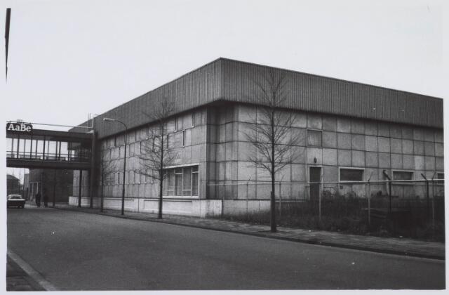 018349 - Textielindustrie. Gedeelte van de gebouwen van AaBe Wollenstoffen-en Wollendekenfabrieken aan de Fatimastraat.
