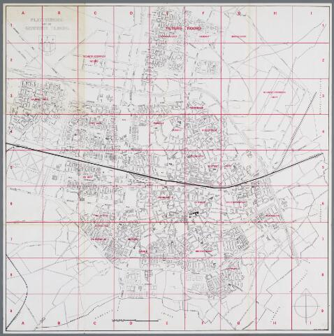059456 - Plattegrond van Tilburg.