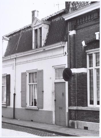 017244 - Pand Capucijnenstraat 58 anno 1966