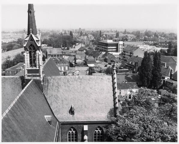 036397 - Panorama van Tilburg vanaf de toren van de Heuvelse kerk;