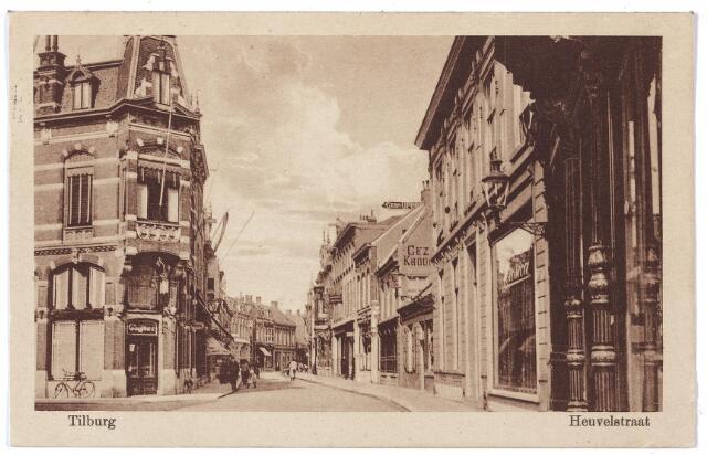 001114 - Heuvelstraat hoek Willem II-straat richting Heuvel.